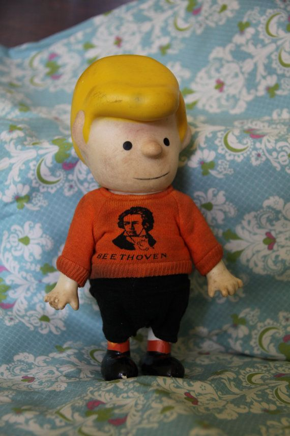 Incredible! 1966 Peanuts Schroeder Doll Vintage on Etsy, £6.55