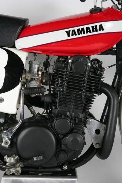1978- Yamaha HL500 Engine Detail