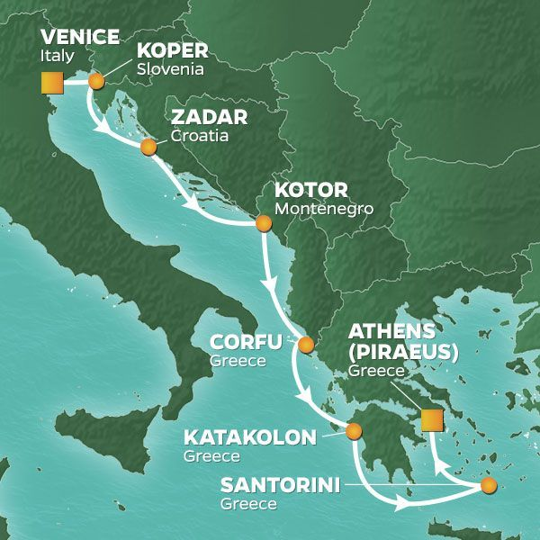 Dalmatian Coast, Igoumenitsa, Katakolon
