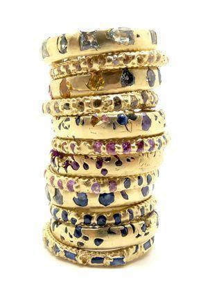 Whimsical new Rapunzel bridal jewellery by British designer Polly Wales #GoldJewelleryBridal