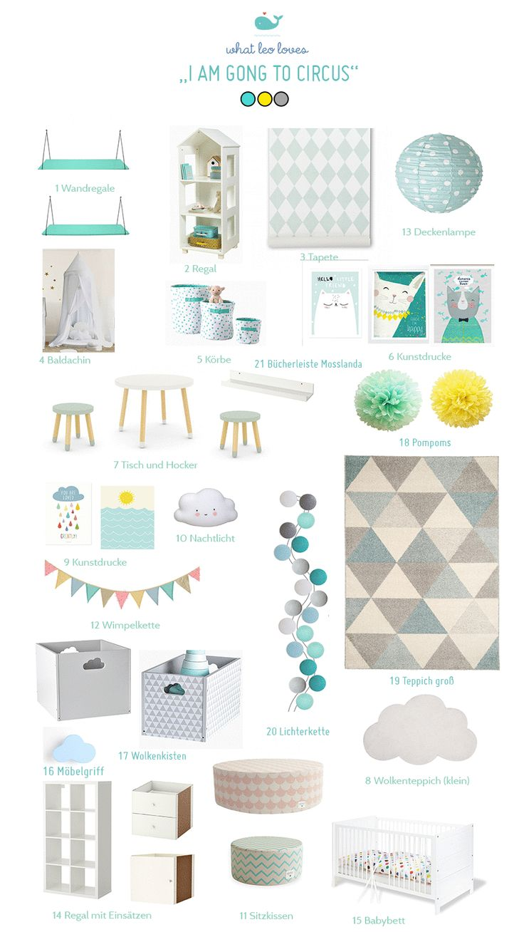 862 best Babyzimmer/Kinderzimmer images on Pinterest | Child room ...