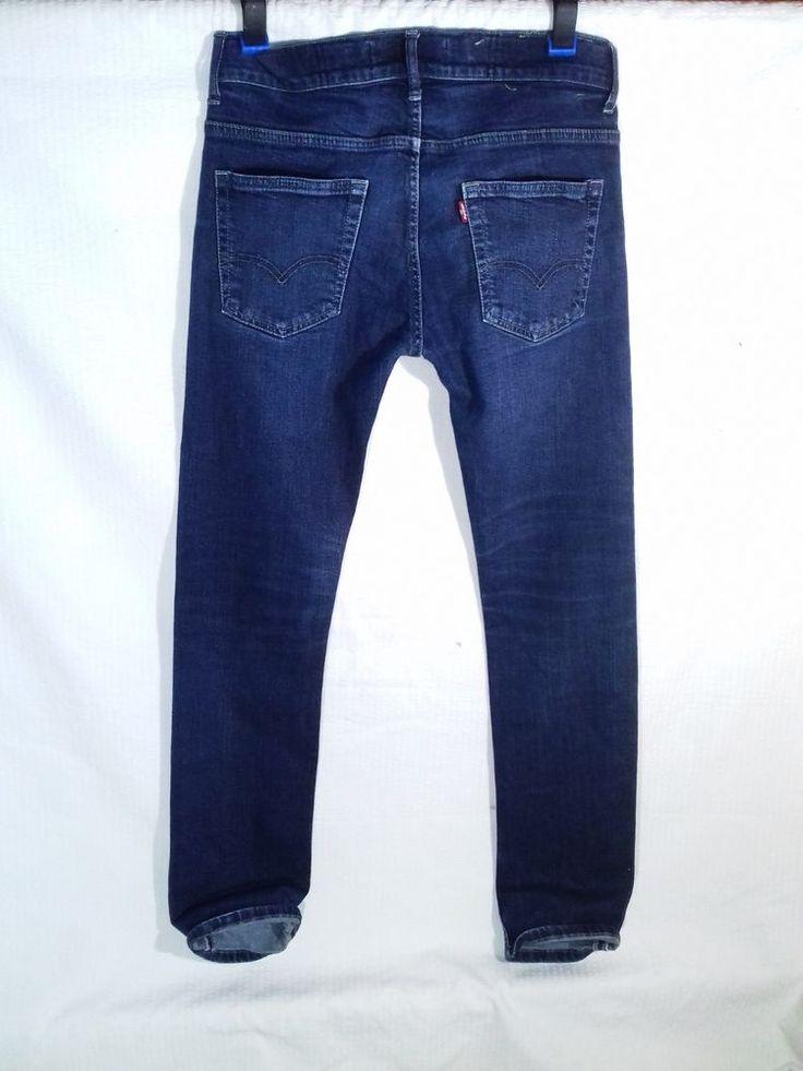 Levi's 511 Slim Fit Women's Red Tab Stretch Jeans Size XS/S #Levis #SlimSkinny