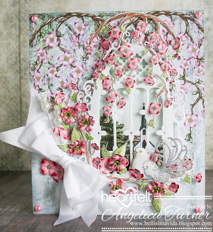 Dogwood Window {Heartfelt Creations} - Scrapbook.com