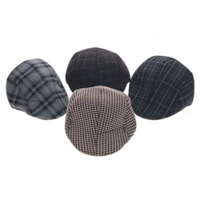 Warm Plaid style Men's Berets: Cheap Online Sale - HatSells.com