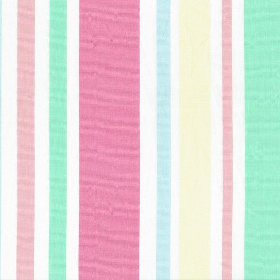 Fabric Cabana Stripe Pastel Candy Striped By The Yard Fabric Stripe Yellow Fabric