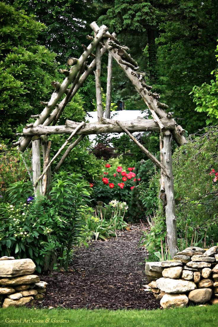 The gardens at the end of May.... | Conrad Art Glass & Gardens