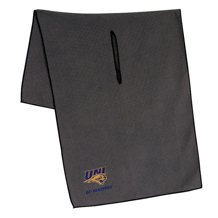 Northern Iowa Panthers Microfiber Golf Towel, Multicolor