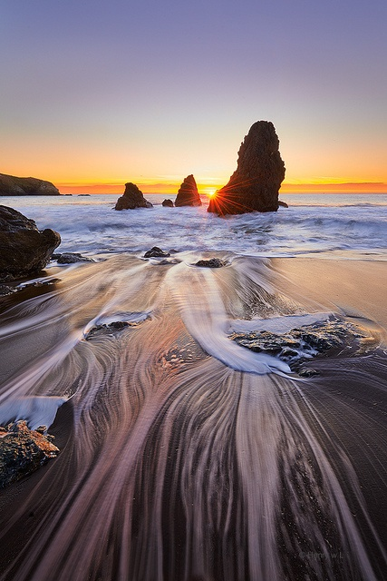 West Coast Sunset (full) by Henry w. L, via Flickr