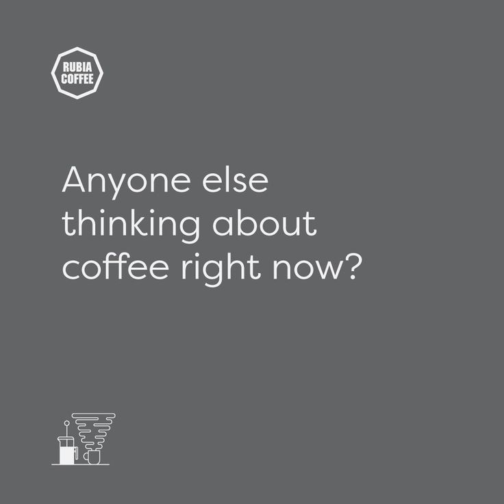 A bit of a silly question on Monday morning.   By golly are we grateful we have coffee in our life.  Happy Monday coffee lovers!  #rubiacoffee #greatcoffee #goodpeople