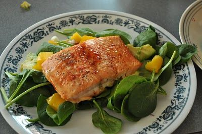 How to Cook Tropical Salmon Salad