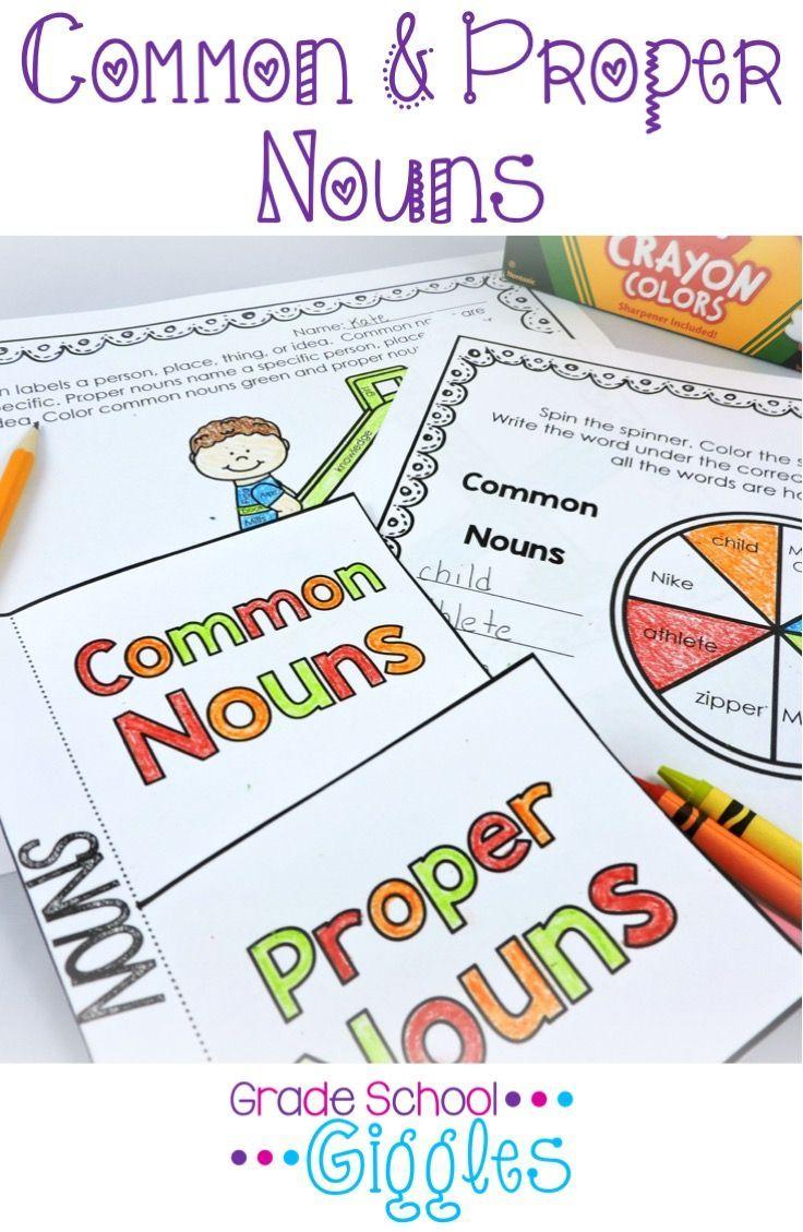 Best 25+ Proper nouns worksheet ideas on Pinterest   Proper nouns ...