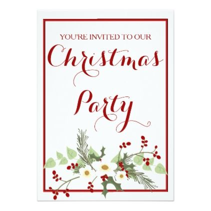25+ ide terbaik Christmas party invitation template di Pinterest - christmas invite template free