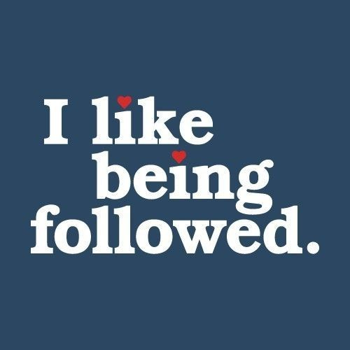 Do you like being followed? First 5 likes I will follow!