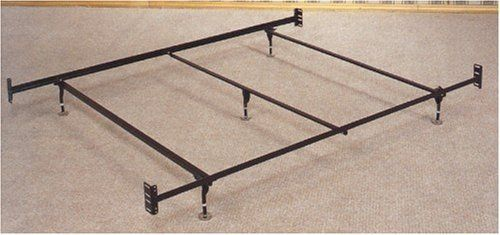 Coaster Bed Frame, Rail for Headboard and Footboard with 5-Legs and Glides, Queen by Coaster Home Furnishings. $51.00. Fits a Standard Queen Sized Bed with Headboard and Footboard. Some assembly may be required. Please see product details.. Ideal for bedrooms. Queen Size 5 Legs and Glides Bed Frame/Rail for Headboard and Footboard. This is a brand new Queen Size Bed Frame with Glides for Headboard and Footboard with 5 Legs of Support. Provides for strong and du...