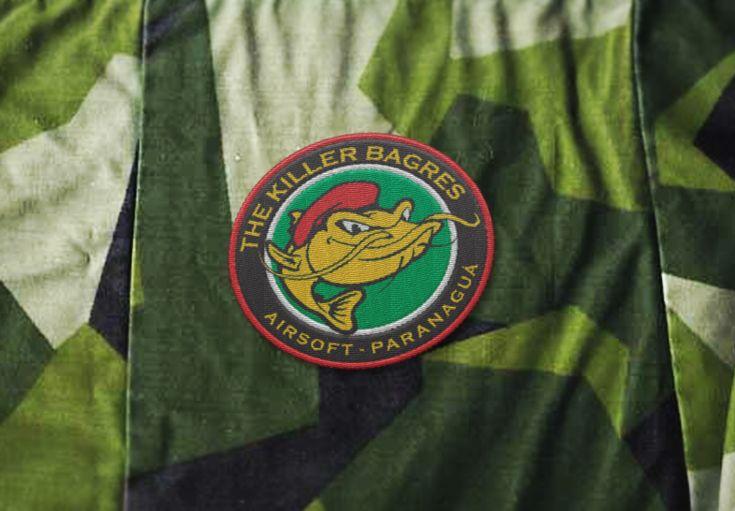 Logo/Badge para equipe de airsoft