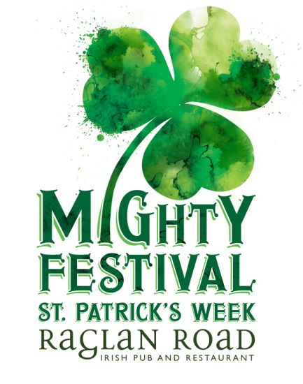 Celebrate as the Irish do during the Mighty St. Patrick's Festival at Raglan Road Irish Pub & Restaurant in Disney Springs March 11-17 2016. Award-winning Irish bands and quick-stepping Irish dancers will showcase their roots during Central Florida's most authentic St. Patrick's Day celebration