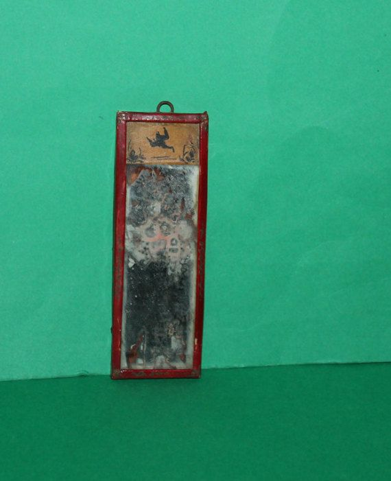 Vintage Dolls House Westacre Red Lacquer With by kittymacminis
