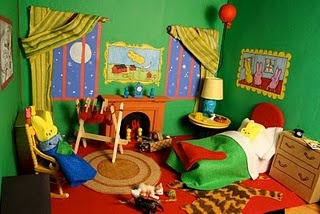 Diorama for Goodnight Moon