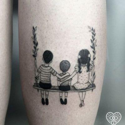 Tattoo für Kinder: 90 Ideen für die Gravur der Liebe Ihrer Mutter auf der Haut