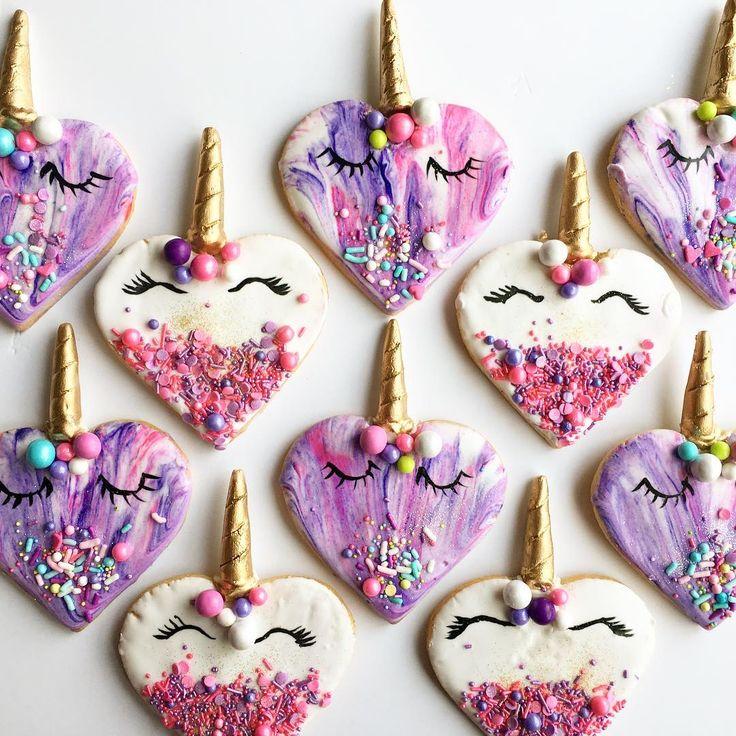 | Unicorn hearts (featuring @fancysprinkles) I am totally booked for Valentine's Day loves | #Regram via @thepurplecupcake_&hl=en