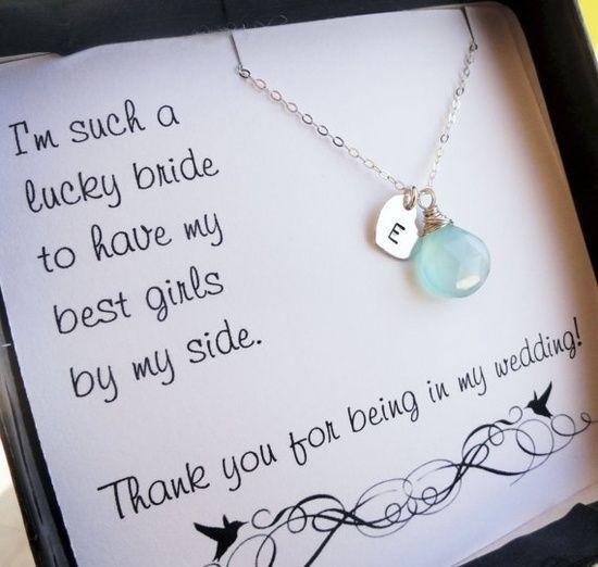 Brautjungfern Geschenk