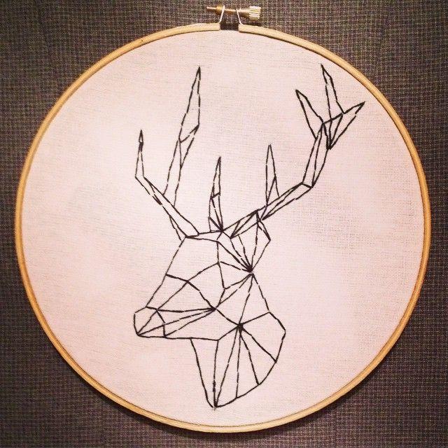 Origami stag tattoo. tshirtcerf-021.jpg 601×801 pixels | Geometric ... | 640x640