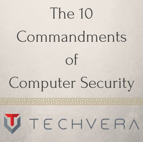 Are you guilty of violating any of the 10 Commandments of Computer Security? Find out on our blog, and learn how to fix vulnerabilities.