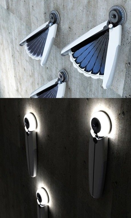 Creative solar light collects the sun by day, and illuminates your world by…