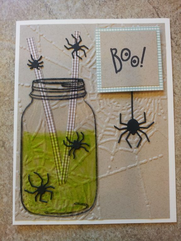 handmade cards boooooooooooooo memory box tim holtz - Handmade Halloween Cards Pinterest