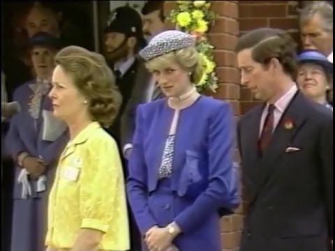 Diana & Charles open the Leicestershire Hospice (May 30, 1986)