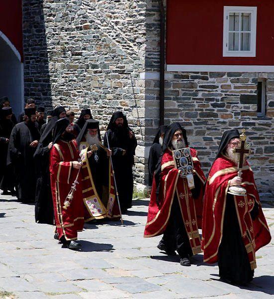 Vatopedi Monastery, Mount Athos, Greece