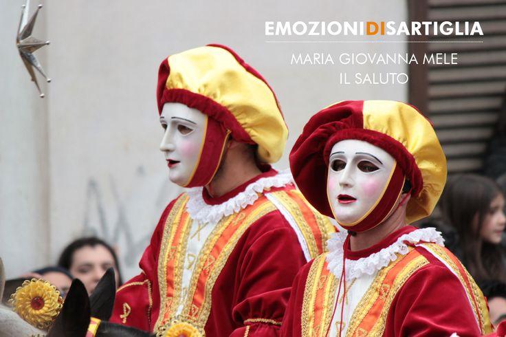Il saluto - Maria Giovanna Mele #sartiglia #emozionidisartiglia #oristano