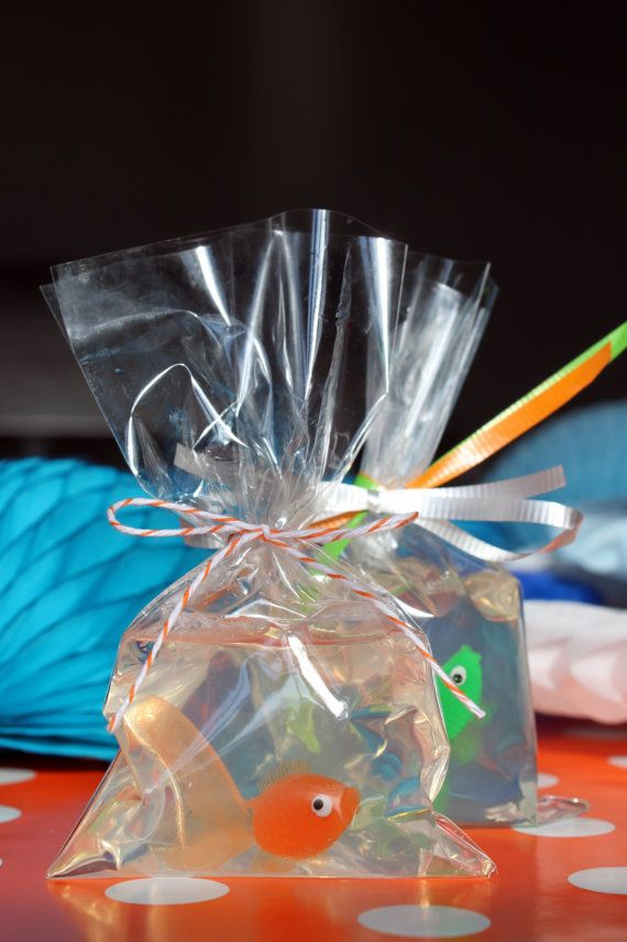 Mini Fish in a Bag Soap Party Favor by CraftThatParty on Etsy, $2.00