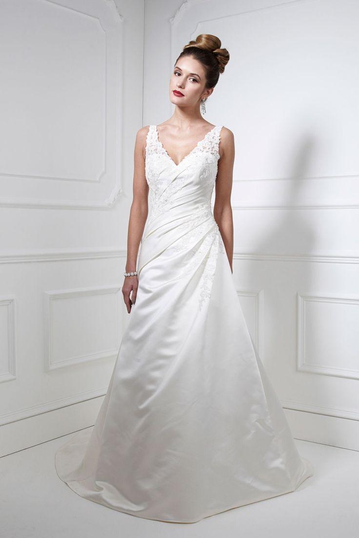 Kelsey Rose White Label 1043360 💟$208.99 from http://www.www.granddressy.com   #mywedding #label #kelsey #rose #bridal #weddingdress #bridalgown #white #wedding
