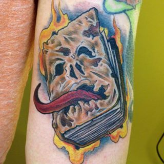 Evil Dead tattoo by Jessamyn Felker, Art With Heart ...