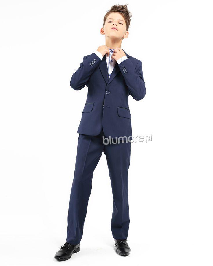 Nowoczesny garnitur skrojony na miarę aktualnych trendów. Jeżeli chcesz, aby Twój chłopiec wyglądał modnie i stylowo koniecznie kup mu garnitur Dawid BSL! Polecamy! | Cena: 239,00 zł | Link do sklepu: http://tiny.pl/gg9n6