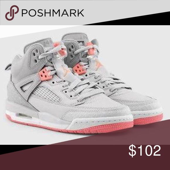 Nike Jordan Spizike GG They're back and better than ever. The latest Jordan Spiz'ike is inspired after the original that was created with iconic director Spike Lee. Leather and synthetic upper for a supportive fit. Visible Air Sole unit for cushioning. Phylon midsole for lightweight cushioning. Durable rubber outsole for great traction. Women's 6, kids 4 Air Jordan Shoes Athletic Shoes