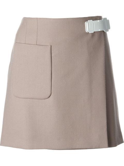 ICEBERG clip fastening wrap skirt £267.92