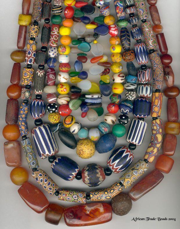 Venetian - Czech and Indian trade beads