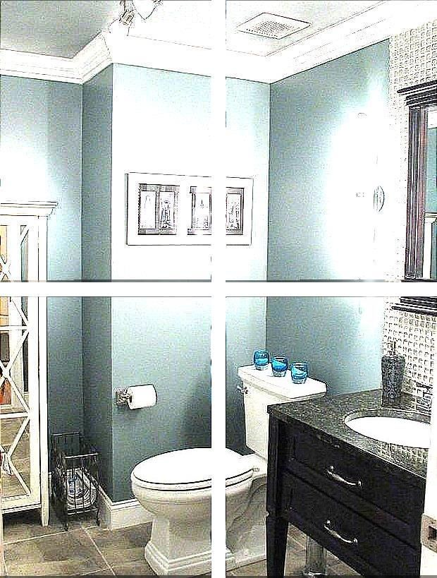 Toilet Decoration Accessories Complete Bathroom Ensembles Blue