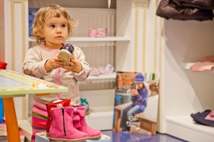 Clara at Pink & Blue Shop