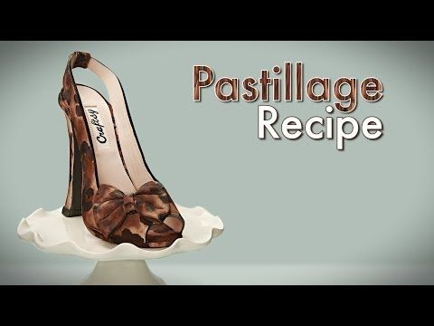 How-to Make PASTILLAGE - YouTube by ConfettiCakes recipe: 1 pound (16 ounces) of Confectioners Sugar 1.5 Tablespoons of Tylose 1/4 cup of warm water