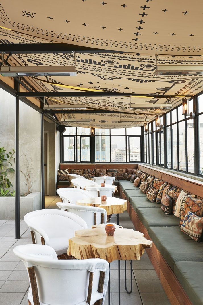 The New Ace Hotel in Downtown Los Angeles | Yatzer  comfortable chairs...always important...