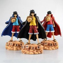 Japan Anime Figurine One Piece Monkey D Luffy Eternal Calendar PVC Action Figure Model Toy 20cm