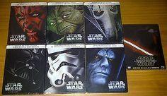 STAR WARS SAGA COMPLETA EDICION METALICA 7 STEELBOOK BLU-RAY PRECINTADO