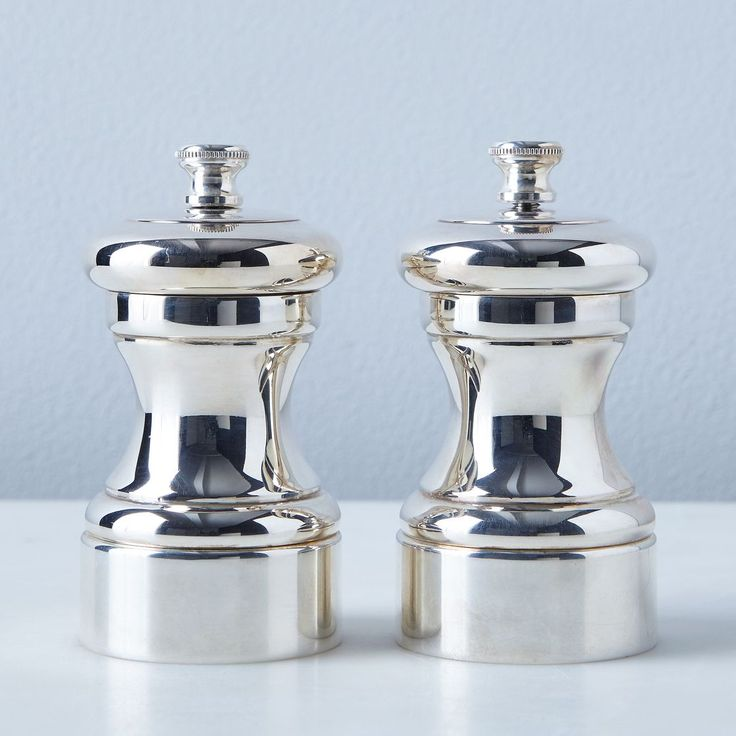 Peugeot Silver-Plated Salt & Pepper Mills