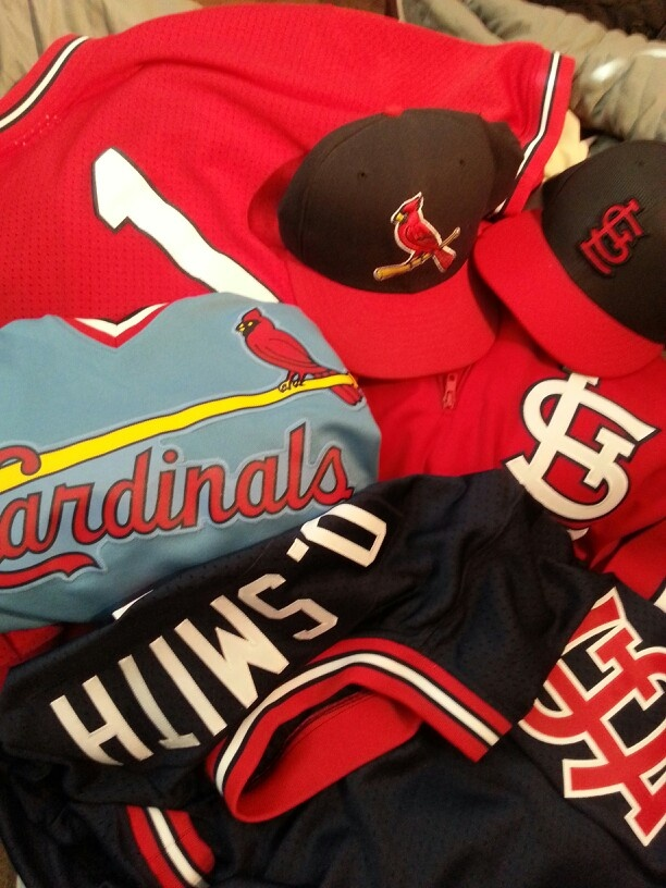 cheap for discount 0cf72 6c210 mlb jerseys st louis cardinals 1 ozzie smith cooperstown ...