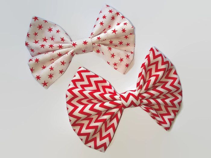 Hair Bows, Star Hair Bows, Fabric Hair Bows, ZigZag Hair Bows, Vintage Hair Bows, Hair Accessory, Gift for Girls, hair Bows for Girls by MAITOPEdesigns on Etsy https://www.etsy.com/uk/listing/510384976/hair-bows-star-hair-bows-fabric-hair
