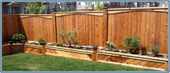 Awesome Wood And Iron Fence Designs
