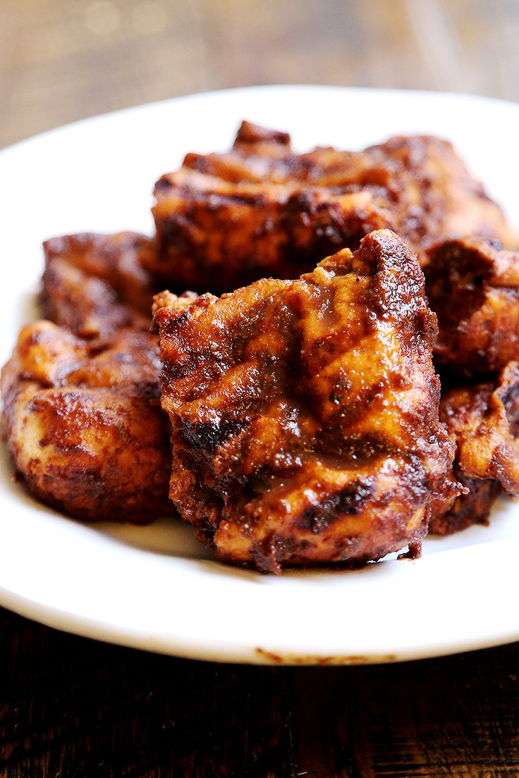 Seitan BBQ Ribs (Vegan) - Meat Substitutes, Recipes